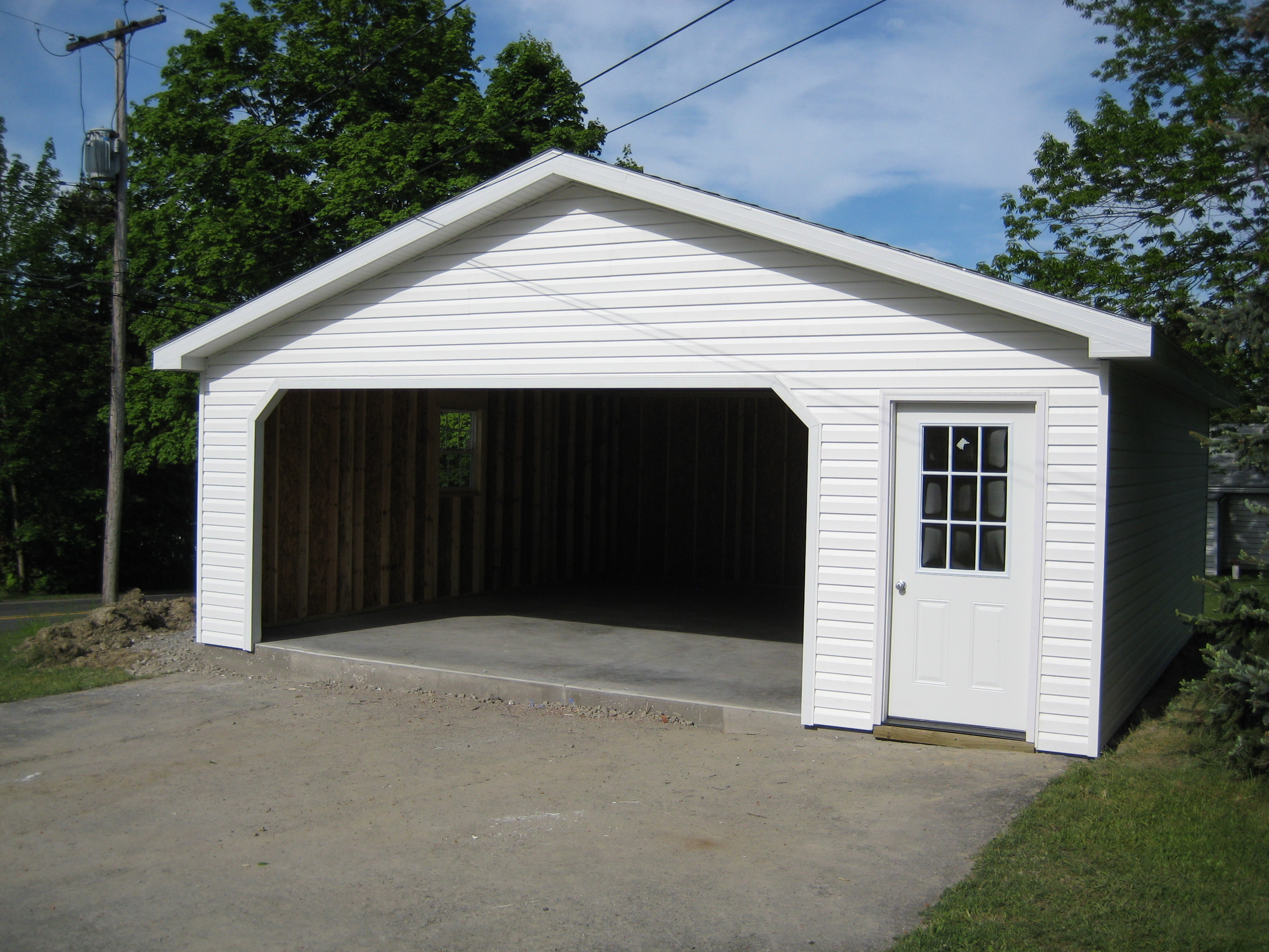 22 39 detached garage for Detached garage kits
