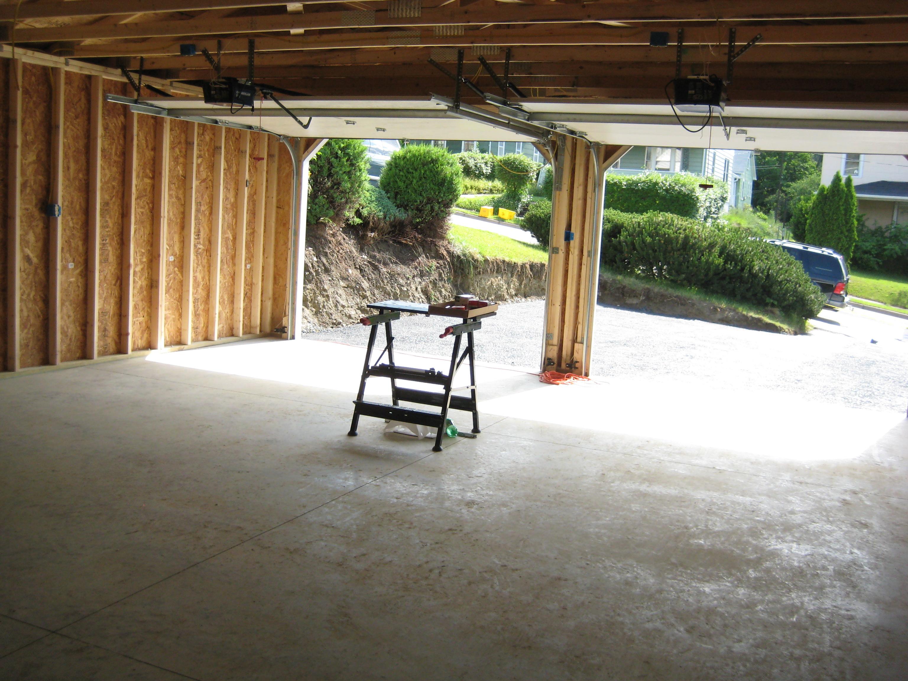 Stick Built Garage