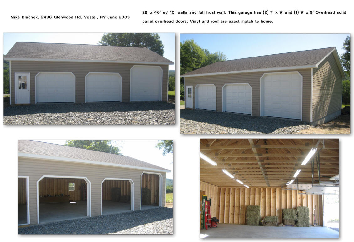 3-car Garage on garages built on your site, amish built garages pennsylvania, pennsylvania garages built on site, amish pre-built grages, amish stick built homes in kansas, amish built log homes, amish stick built garages,